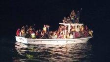 بالصور/ قيادة الجيش: إحباط محاولة تهريب 125 نازحاً سورياً عبر البحر بطريقة غير شرعية مقابل شواطئ العريضة- عكار وتوقيفهم