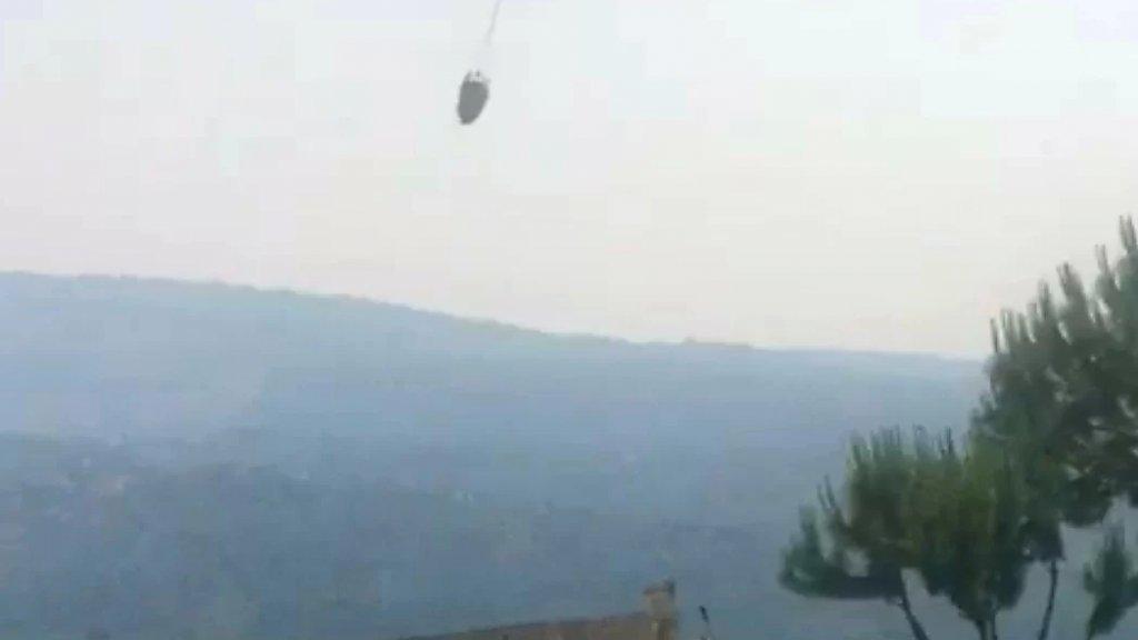 جهود مضنية لاطفاء الحرائق في غابات وادي جهنم العكارية واستقدام طائرة ثانية للجيش