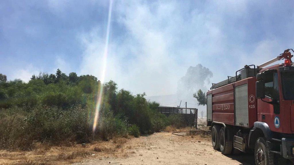 الحريق في الدورة وليس في المرفأ..والدفاع المدني يخمده!