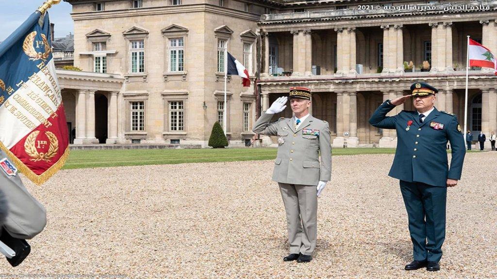 بالصور/ قائد الجيش من فرنسا: الجيش اللبناني يمر بأزمة كبيرة آيلة للازدياد