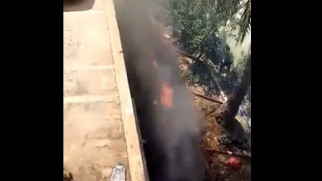 فيديو من الشويفات حيث سمع دوي ولم تعرف أسبابه حتى اللحظة