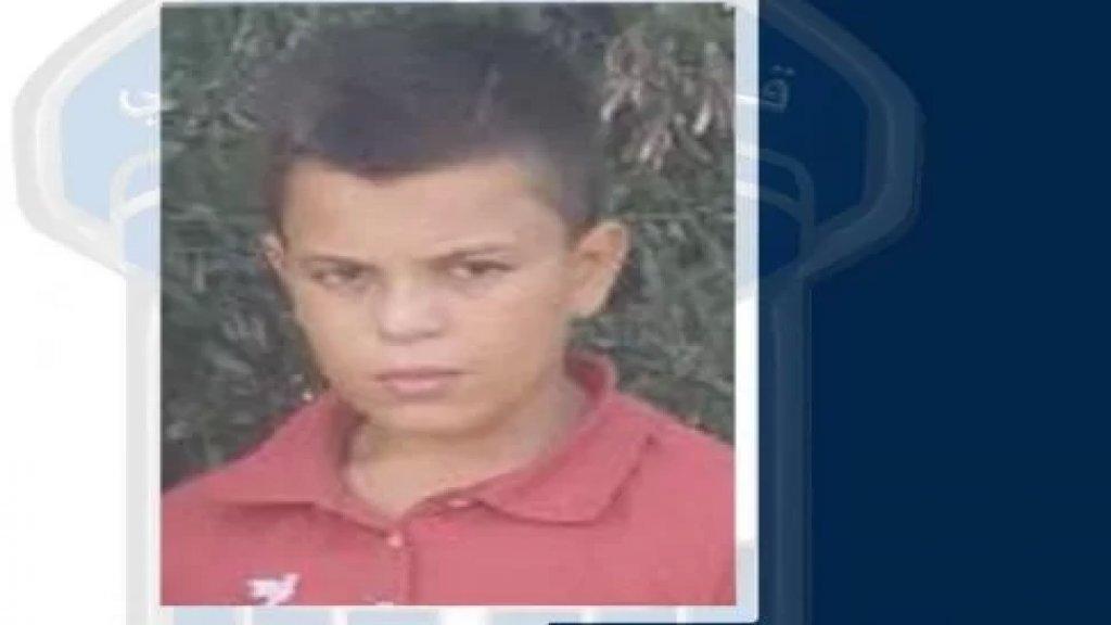 رائد ابن الـ 13 عاماً مفقود... غادر منذ أكثر من شهر منزل ذويه في التل طرابلس ولم يعد!