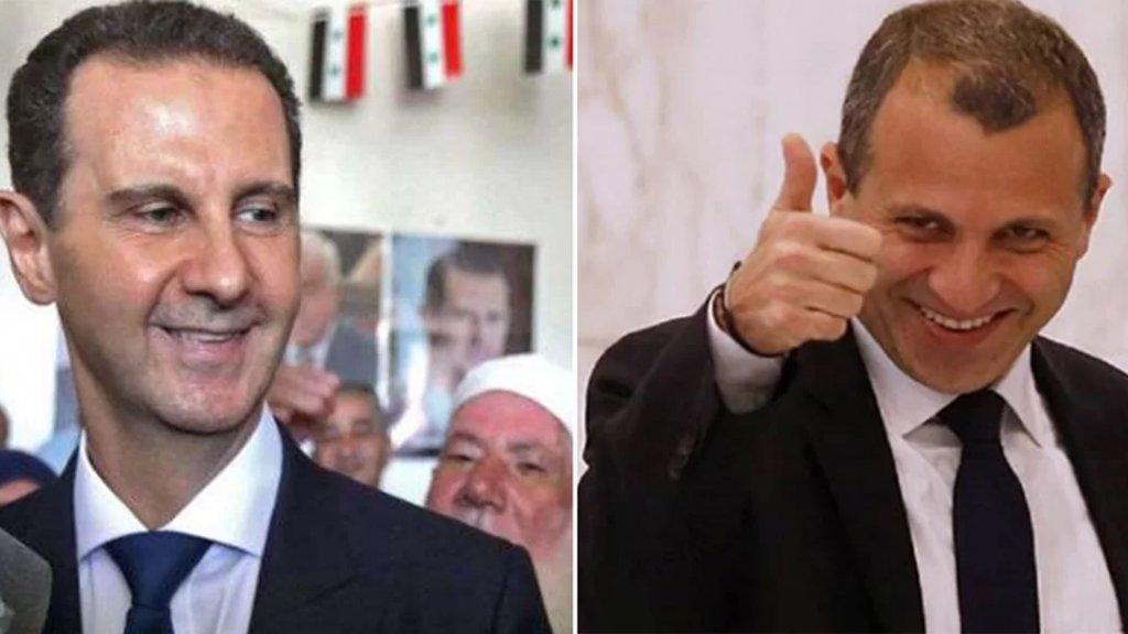 باسيل أبرق لـ الأسد مهنئًا: سدّد الله خطاكم