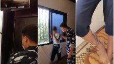 تداول فيديو لمداهمة عناصر من فصيلة جويّا لأحد المنازل.. الوالدة عنّفت ابنها وقيّدته بالسلاسل لمدة 72 ساعة!