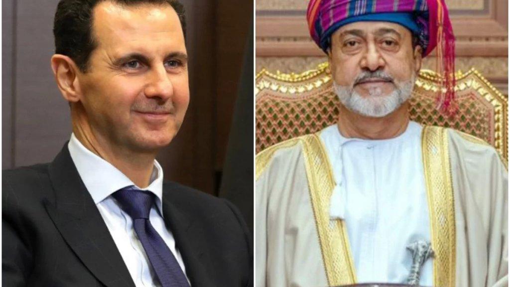 """سلطان عمان يبعث برقية تهنئة للأسد بفوزه في الانتخابات الرئاسية: """"بالتوفيـق والنجاح في مواصلة قيادة الشعب السوري"""""""