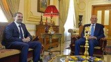 بالصور/ الحريري يلتقي الرئيس برّي في عين التينة..هناك تفاؤل حذر بالوصول لحل مشترك