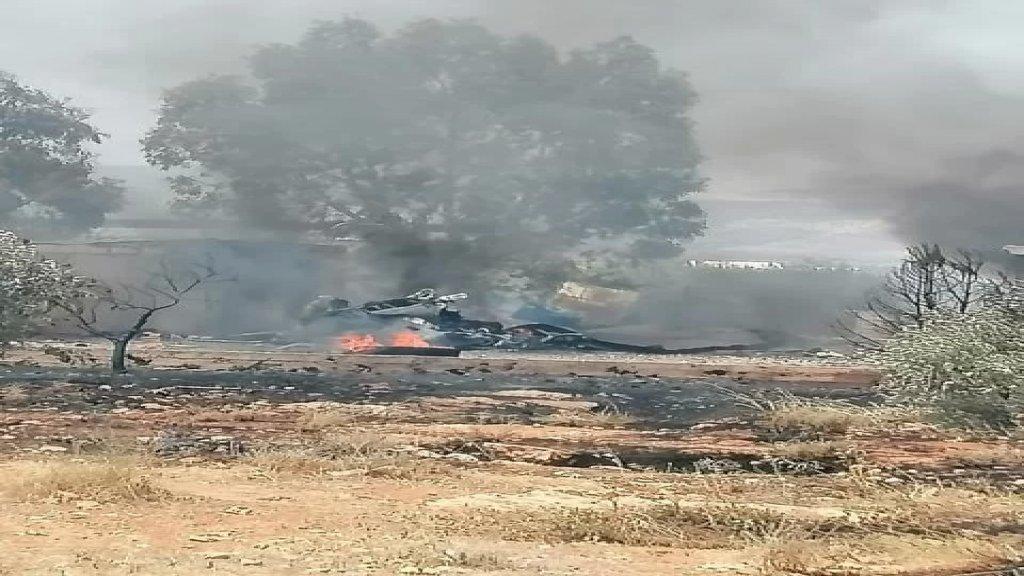 انفجار في بيك اب ينقل مادة الغاز في محيط بلدة حوش السيد علي شمال قضاء الهرمل.. واصابة 3 مواطنين بجروح وحروق خطيرة بحسب الوكالة الوطنية