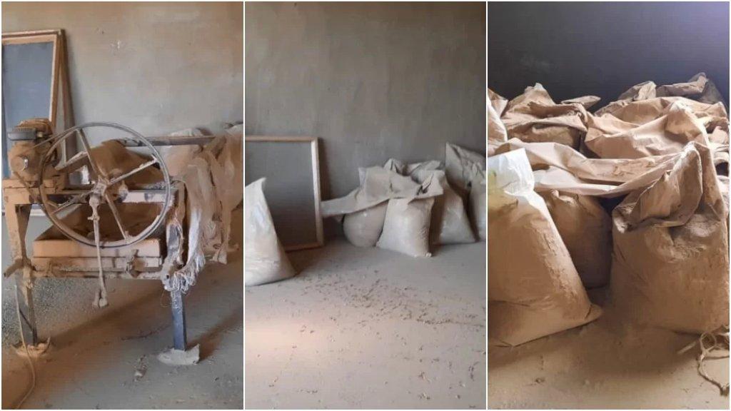 بالصور/ الجيش يضبط مصنعين لتصنيع المخدرات في بلدة بوداي – بعلبك