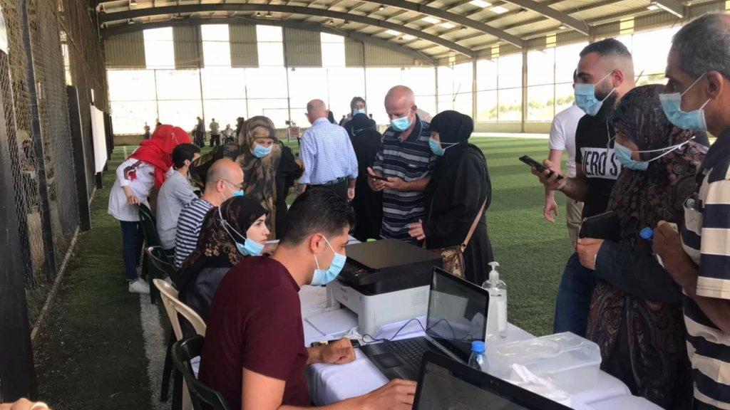 أكثر من 13 ألف شخص تلقوا اللقاح حتى الواحدة ظهرًا في لبنان