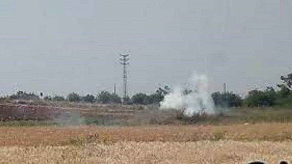 """دورية """"اسرائيلية"""" أطلقت النار ورمت قنابل دخانية على راعٍ في مزرعة بسطرة - خراج بلدة كفرشوبا"""