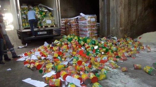 بعدما كانت مخبأة..إتلاف 20 طنًا من حليب الأطفال لانتهاء تاريخ صلاحيتها (Lebanon Times)