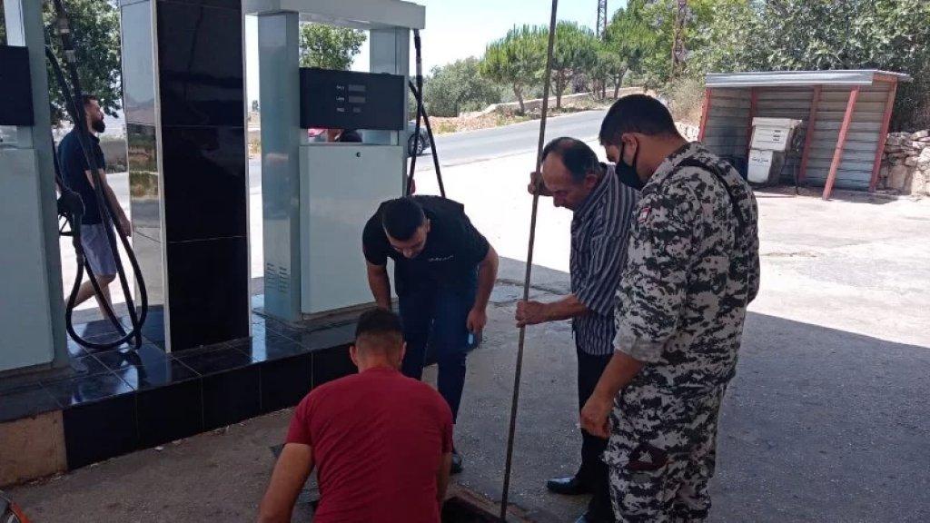 الأمن العام يجول على محطات الوقود في قرى بنت جبيل ومرجعيون للتأكد من عدم الإحتكار