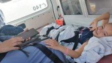 الطفلة سهيلة التي أصيبت برصاصة طائشة أقلعت إلى الأردن على متن طائرة خاصة وبرفقة طاقم طبي خاص لتلقّي العلاج.. بتوجيهات من ملك الأردن