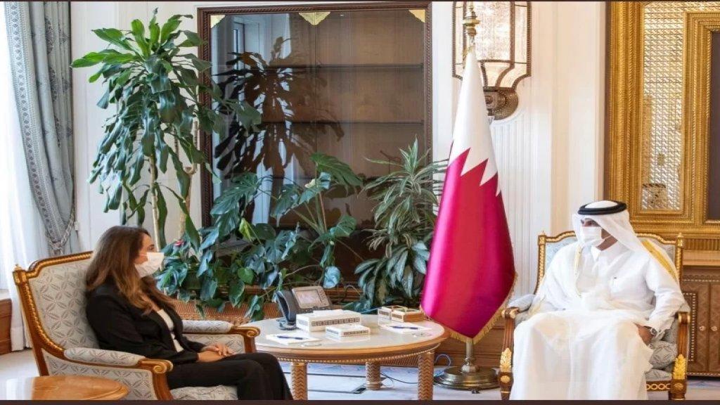 رئيس وزراء قطر بعد زيارة وزيرة الدفاع زينة عكر: على إستعداد لتقديم أي مساعدة للبنان في ظل الظروف الصعبة التي يمر بها