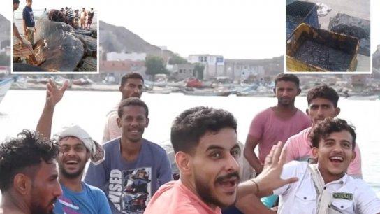 صيادون يمنيّون يجنون ثروة بعد عثورهم على عنبر في جوف حوت.. بيع لرجل أعمال إماراتي بـ1.5 مليون دولار!