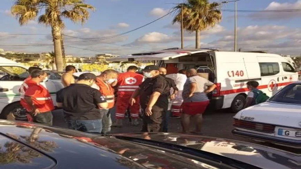 إنقاذ 7 أشخاص من الغرق بينهم طفلة كانوا يمارسون هواية السباحة على المسبح الشعبي في صيدا