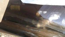 """الاجسام المشبوهة التي عثر عليها مقابل محطة للمحروقات قبل شارع من مقرّ رئاسة مجلس النواب في عين التينة تبين انها صواريخ """"ب ٧"""" (MTV)"""