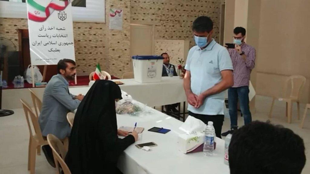 بالصور/ الايرانيون في لبنان يقترعون في الانتخابات الرئاسية لبلادهم