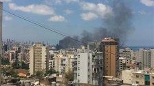 الدفاع المدني ينفي ما يُشاع عن ضخامة الحريق في مرفأ بيروت.. العمل جارٍ على إخماده