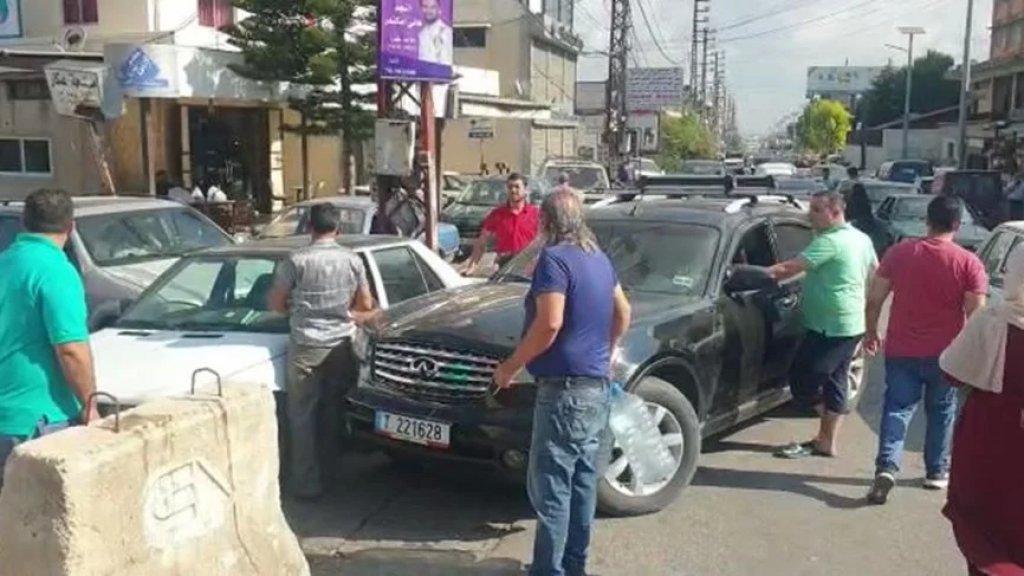 إشكالات أمنية وزحمة خانقة بسبب أزمة المحروقات في عكار