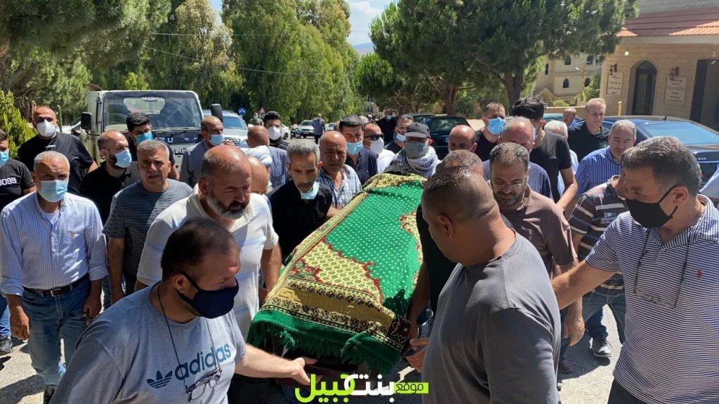 بالصور والفيديو / بنت جبيل تودع شيخ المناضلين المرحوم الحاج نمر اسعد بزي (ابو اسعد)