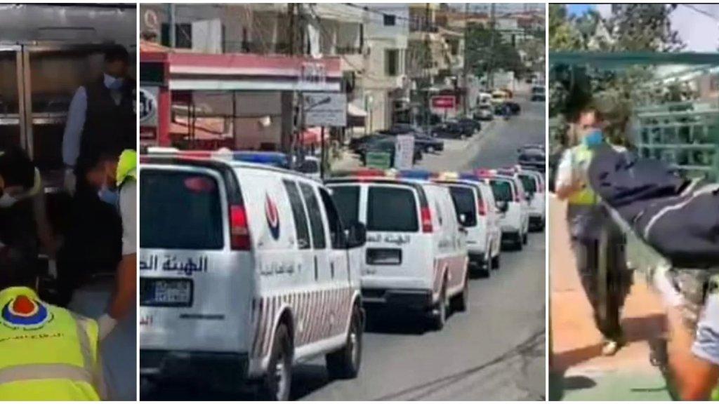 بالفيديو/ وصول جثامين ضحايا حادث السعديات إلى مستشفى الشيخ راغب حرب في تول استعداداً لتشييعهم في بلدة الشرقية بعد وصول والدهم غداً من أفريقيا