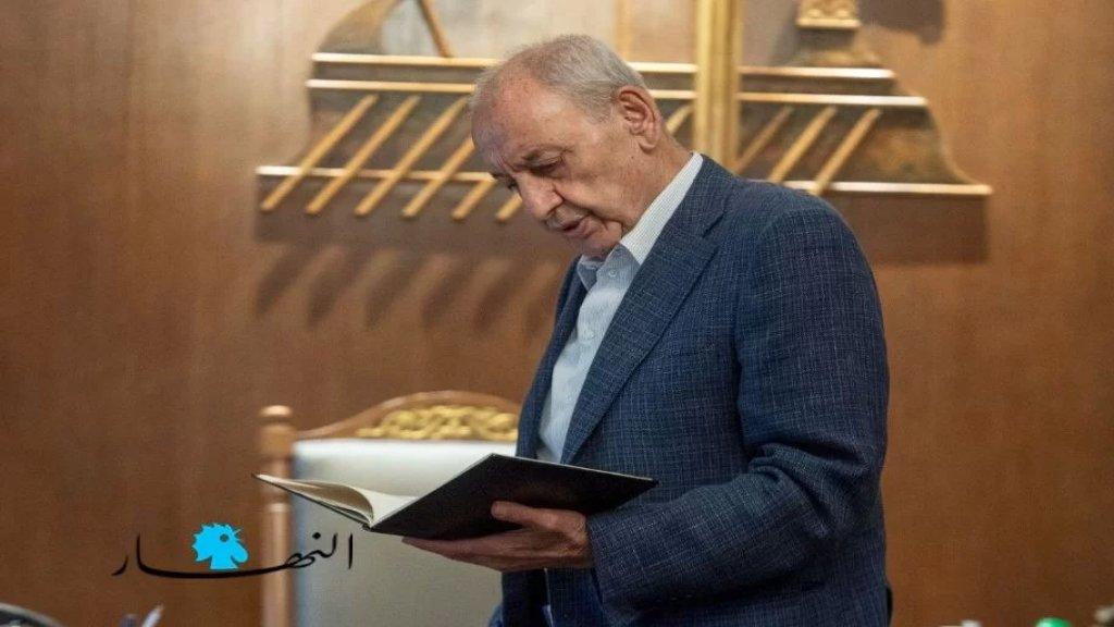 الرئيس بري: إذا اعتذر الحريري سيكون انهيار تام، وأخاف من الناحية الامنية