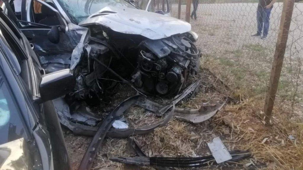 6 جرحى في  حادث سير عصر اليوم على طريق عام النبطية الفوقا
