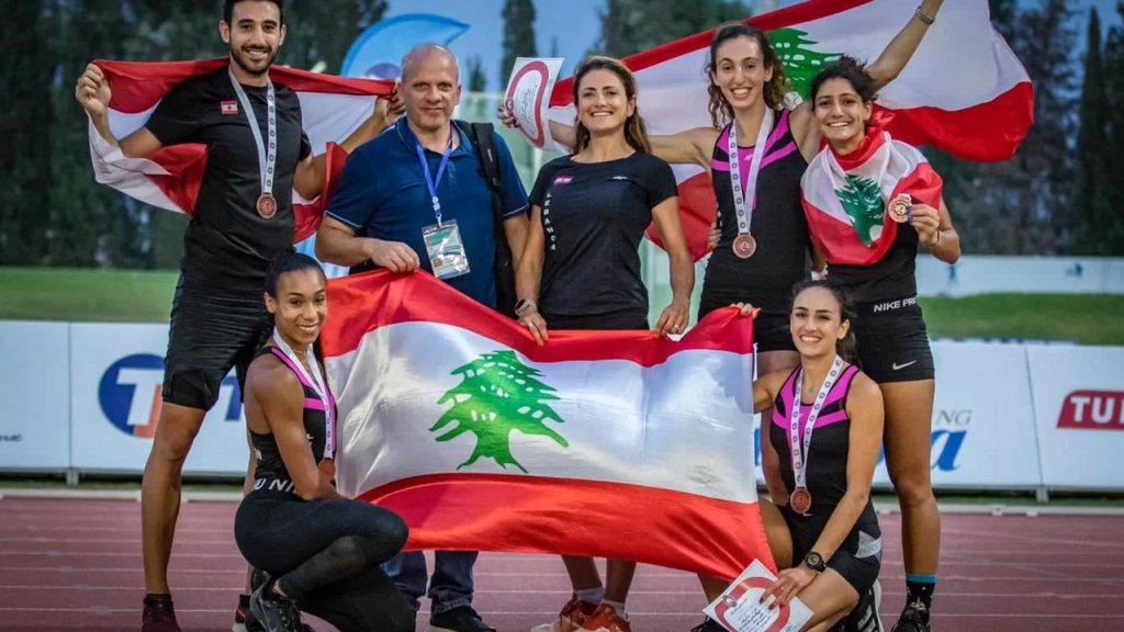 ثلاث ميداليات برونزية للبنان في بطولة العرب لألعاب القوى في تونس
