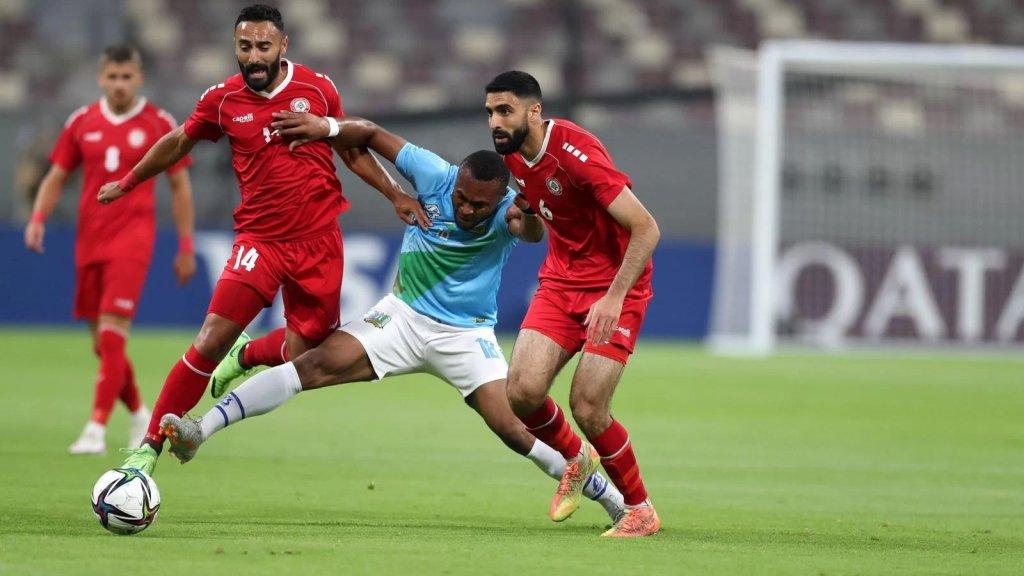 منتخب لبنان يتأهل إلى كأس العرب بعد فوزه على جيبوتي بهدف مقابل صفر