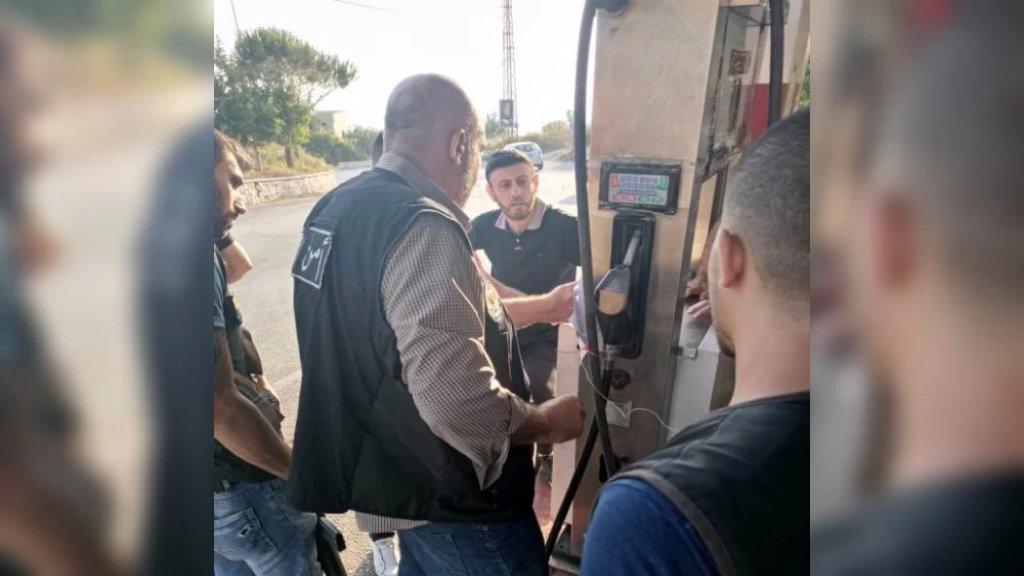 إجبار 4 محطات في النبطية على بيع البنزين وختم واحدة بالشمع الأحمر في جرجوع بعد رفض صاحبها فتحها أمام المواطنين