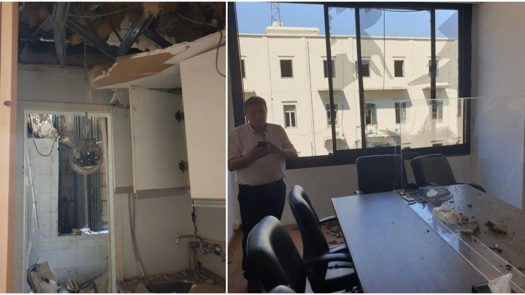 بالصور/ المحامي صخر الهاشم: الإنفجار ضخم جداً ونتمنى أن لا يكون رسالة بشأن التحقيق حول مرفأ بيروت