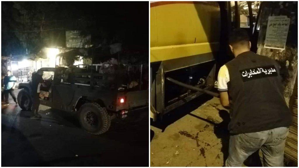 بالصور/ صهاريج مازوت من الجيش إلى التبانة وتفريغها في خزانات الوقود لمولدات الإشتراكات في المنطقة