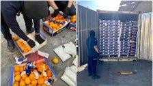 بالصور/ السعودية تعلن إحباط محاولة لتهريب أكثر من 4.5 مليون قرص كبتاغون مخبأة في شحنة برتقال