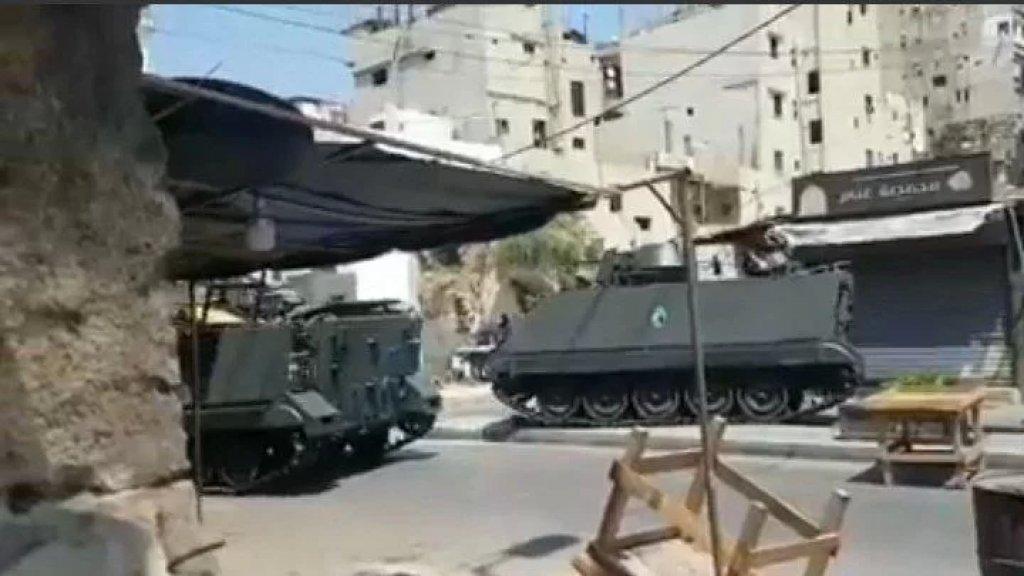 بالفيديو/ الجيش اللبناني ينفذ دوريات مؤلله في المناطق التي تشهد إطلاق نار في طرابلس