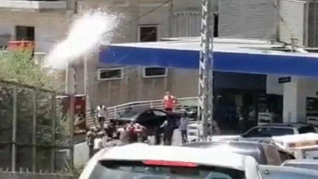 فيديو متداول: إطلاق نار أمام محطّة محروقات في زحلة