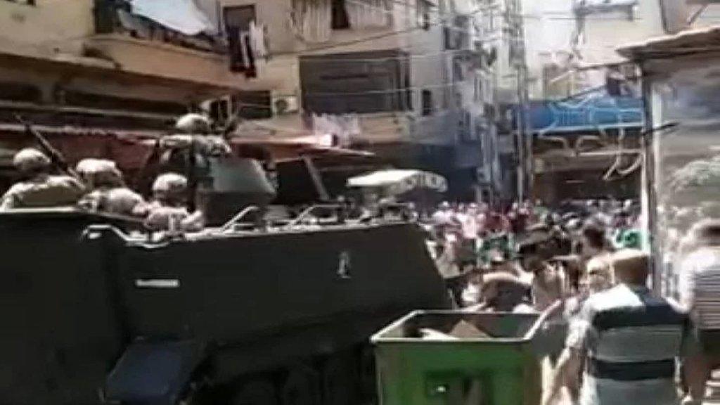 بعد يوم غاضب.. اهالي طرابلس يشكرون الجيش اللبناني عبر الجديد على امدادهم بنحو مليوني ليتر من مادة المازوت لمولدات المدينة