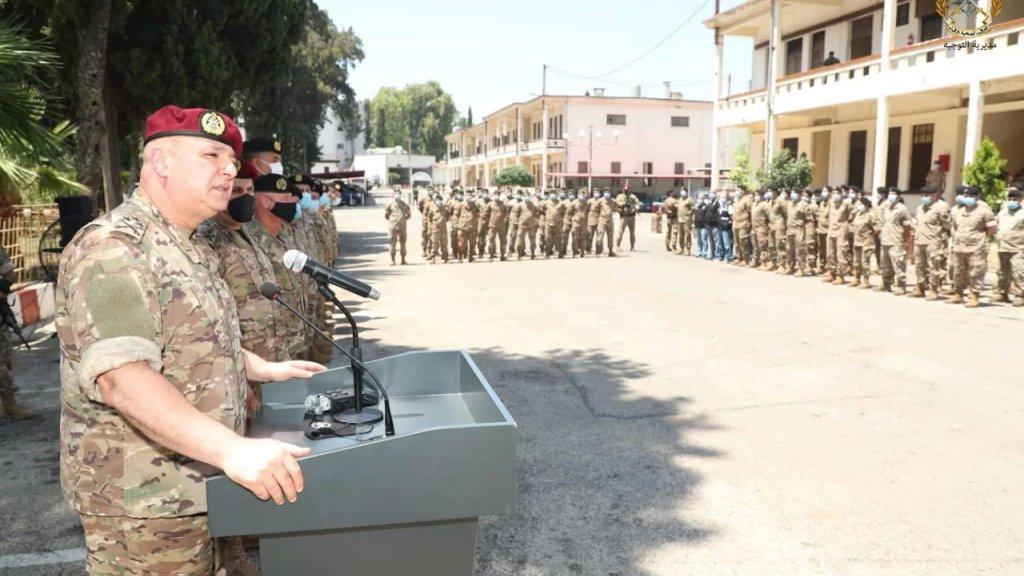 قائد الجيش من طرابلس: من غير المسموح لأي كان المسّ بأمن المدينة ولا تساهل او تهاون مع من يعبث بالاستقرار كائناً من كان