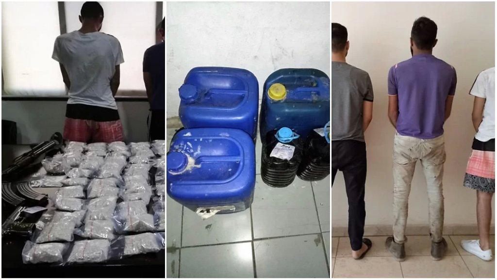 بالصور/ مديرية المخابرات في الجيش توقف أفراد شبكة تقوم بتصنيع المخدرات وتهريبها إلى دول الخليج