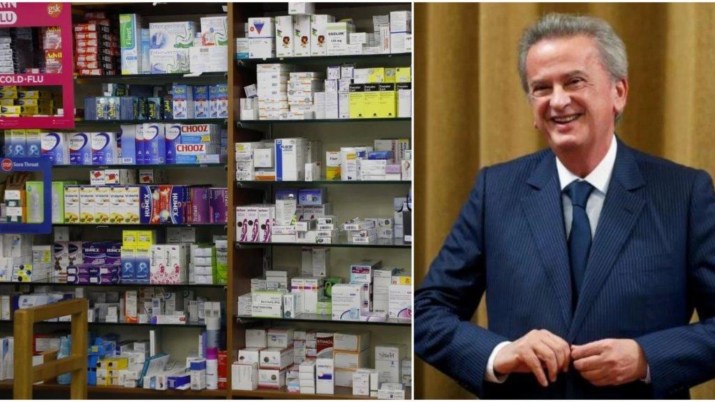 بيان لـ سلامة: سأقوم بتسديد الإعتمادات والفواتير التي ستقدّم إلى مصرف لبنان من قبل المصارف والتي تتعلّق بالأدوية لا سيّما أدوية الأمراض المزمنة والمستعصية وفقاً للأولويات التي تحدّدها وزارة الصحة