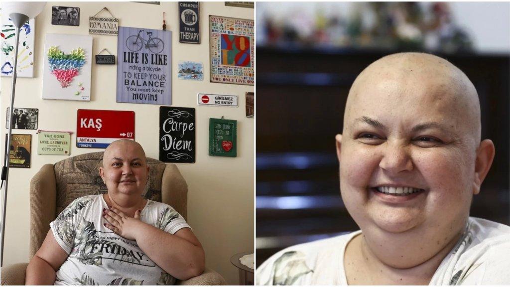 """سيدة تركية تغلبت على السرطان 9 مرات... """"بعد أن علمت بإصابتي لم أفكر فيما عشته بل فيما لم أفعله وأعددت لنفسي قائمة بالأمور التي أرغب في القيام بها"""""""