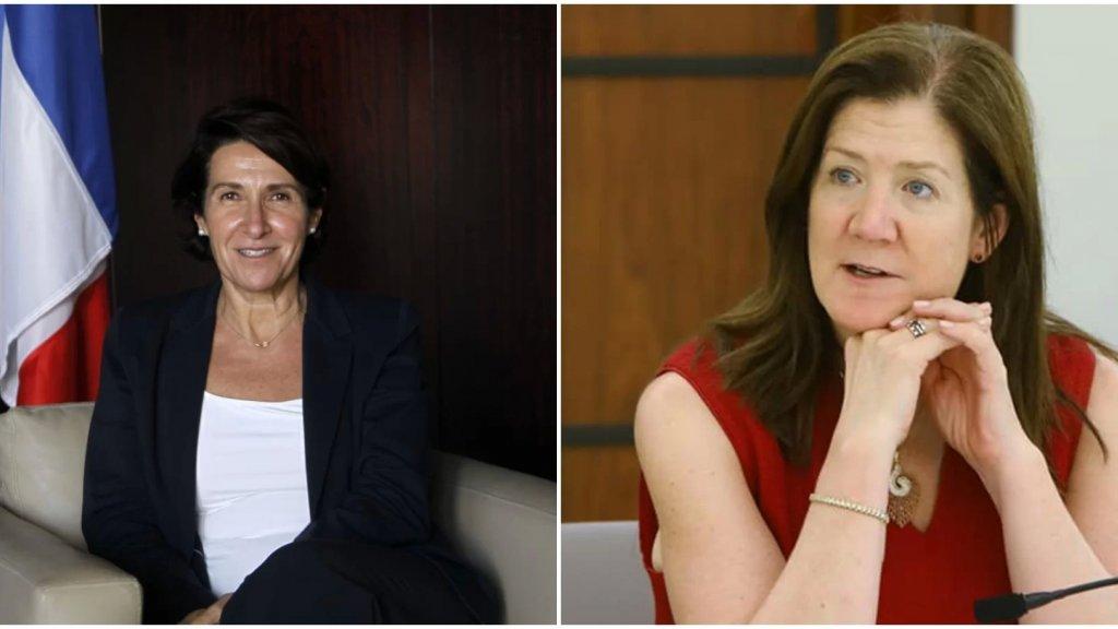 السفارتان الأميركية والفرنسية: شيا وغريو الى السعودية للبحث في الوضع اللبناني وللتأكيد على أهمية المساعدة الإنسانية للشعب اللبناني