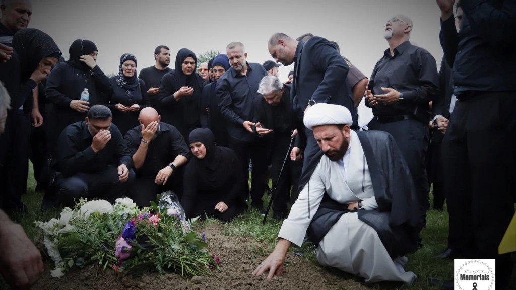 بالصور والفيديو/ الجالية اللبنانية في ديربورن شيعت المرحومة الحاجة زينب توفيق سرور حمود إلى مثواها الأخير