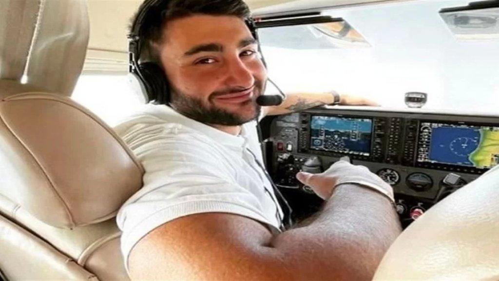 """بيان من عائلة الطيار """"جورج شيريقيجيان"""": كان يملك رخصة طيار خاص.. لعدم تحوير المعلومات وانتظار نتيجة التحقيق"""