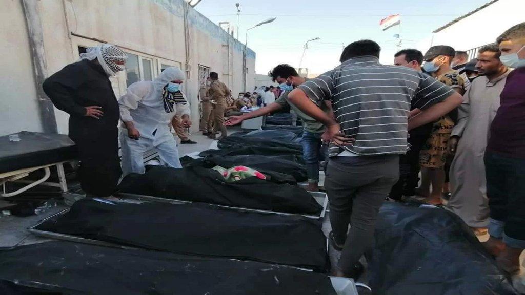 بعد حريق مشفى الحسين في العراق الذي أودى بحياة العشرات.. إقالة مسؤولين وإحالتهم للتحقيق