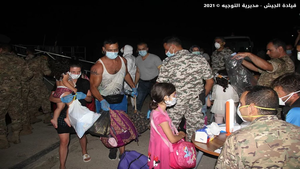 بالصور/ دورية من القوات البحرية في الجيش اللبناني تحبط عملية تهريب أشخاص مقابل شاطئ طبرجا على متن قارب... أوقفت 40 مواطناً و32 شخصاً من الجنسية السورية وتركياً واحداً!