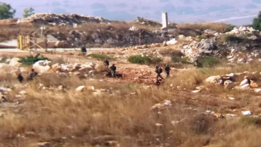 20 عنصرا للعدو تخطوا السياج التقني في ميس الجبل في عملية كشف ومسح للمنطقة