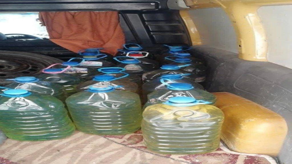 بعد متابعة حثيثة من شرطة البلدية... ضبط غالونات بنزين مخزنة في أحد البيوت في الغازية!