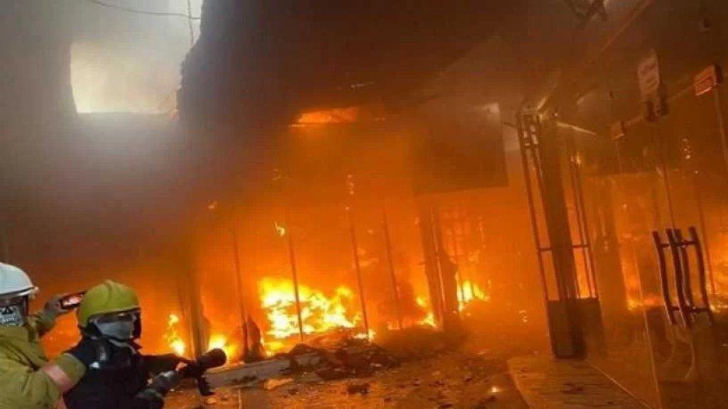 بعد أيام من حريق المستشفى في الناصرية.. مصرع طفلة في حريق ضخم بأحد فنادق كربلاء بالعراق وإنقاذ عشرات النزلاء