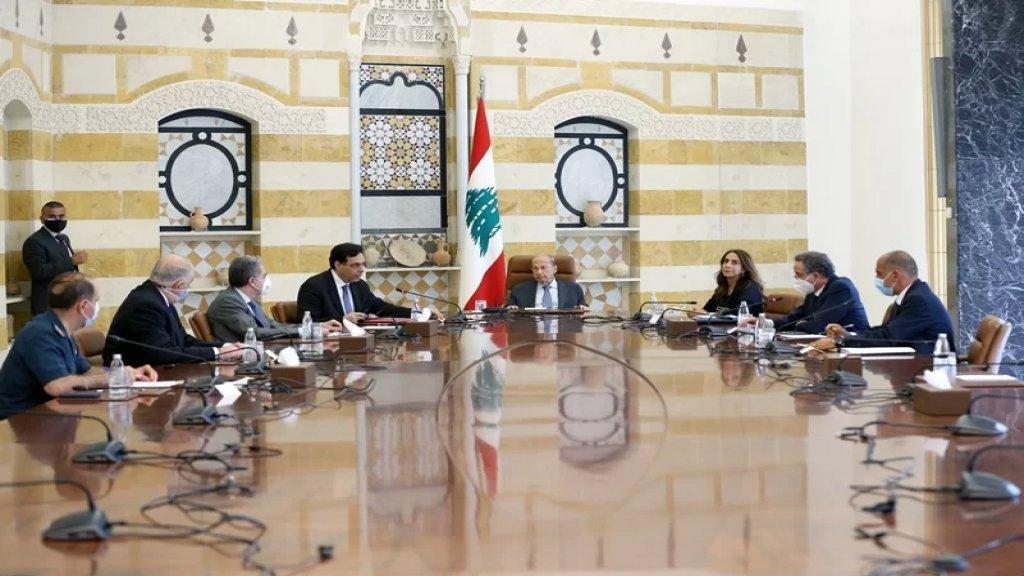 المجلس الأعلى للدفاع برئاسة الرئيس عون بحث في الأوضاع الأمنية وفي الجهوزية في عيد الأضحى